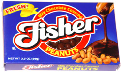 Fisher Milk Chocolate Covered Peanuts
