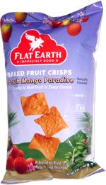 Flat Earth Baked Veggie Crisps Peach Mango Paradise