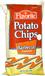 Flavorite Potato Chips Barbecue