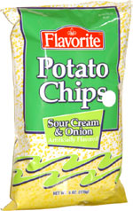 Flavorite Sour Cream & Onion Potato Chips