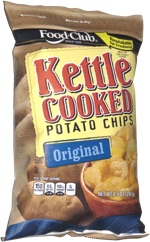 Food Club Kettle Cooked Potato Chips