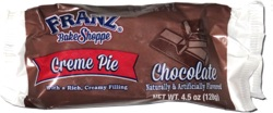 Franz Bake Shoppe Creme Pie Chocolate