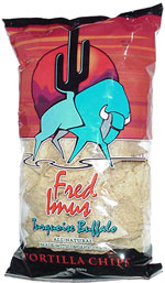 Fred Imus Turquoise Buffalo Tortilla Chips
