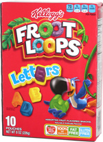 Froot Loops Letters