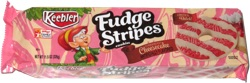 Keebler Fudge Stripes Strawberry Cheesecake