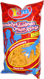 Yum Yum Onion Flavoured Rings