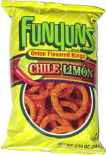 Funyuns Chile Limón