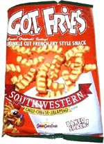 G.O.T. Fries Southwestern Chili-Cheese-Jalapeno flavor
