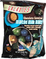 Galaxies Chocolate Covered Malted Milk Balls