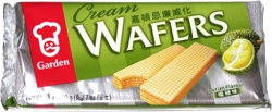 Garden Cream Wafers Durian Flavour