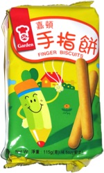 Garden Finger Biscuits