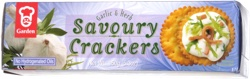 Garden Garlic & Herb Savoury Crackers