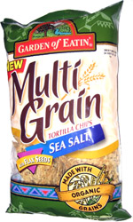 Garden of Eatin' Multi Grain Tortilla Chips Sea Salt