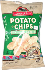 Garden of Eatin' Onion & Garlic Potato Chips