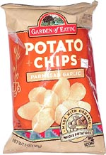 Garden of Eatin' Parmesan Garlic Potato Chips