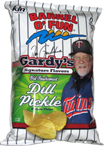 Barrel o' Fun Gardy's Signature Flavors Pickle Potato Chips