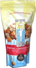 Gary Poppins Caramel + Cheddar + Kettle Artisan Popcorn