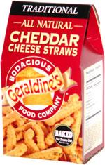 Geraldine's Traditional Cheddar Cheese Straws