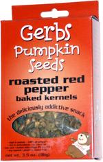 Gerbs Pumpkin Seeds Roasted Red Pepper Baked Kernels