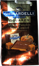 Ghirardelli Chocolate Squares Milk & Pumpkin Spice Caramel
