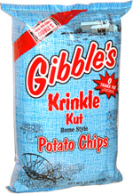 Gibble's Krinkle Kut Potato Chips