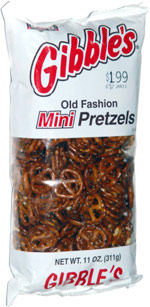 Gibble's Old Fashion Mini Pretzels