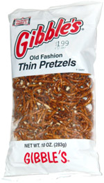 Gibble's Old Fashion Thin Pretzels