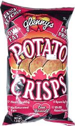 Glenny's Tangy Ketchup Potato Crisps