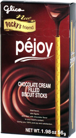 Pejoy Chocolate Cream Filled Biscuit Sticks