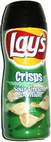 Go Snacks Lay's Crisps Sour Cream & Onion