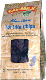 Go-Mex Blue Corn Tortilla Chips