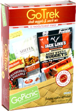 GoPicnic GoTrek Steak Nuggets & Snack Mix