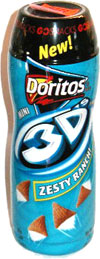 Doritos Mini 3D's Zesty Ranch Go Snacks