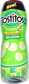 Go Snacks Tostitos Mini Size Rounds Hint Of Lime