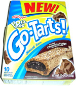 Go-Tarts! Snack Bars Frosted Chocolate Fudge