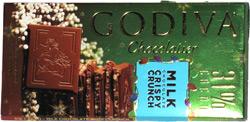 Godiva Milk Chocolate Crispy Crunch