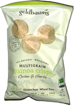 Goldbaum's Multigrain Quinoa Crisps Onion & Garlic