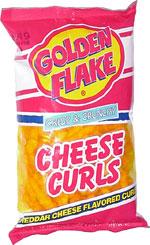 Golden Flake Crisp & Crunchy Cheese Curls