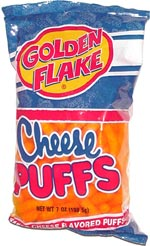 Golden Flake Cheese Puffs