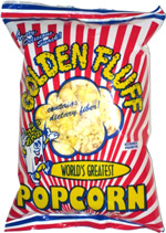 Golden Fluff World's Greatest Popcorn