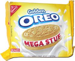 Golden Oreo Mega Stuf