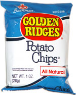 Bachman Golden Ridges Potato Chips