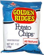 Bachman Golden Ridges Potato Chips
