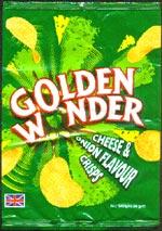 Golden Wonder Cheese & Onion Flavour Crisps