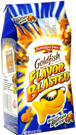 Flavor Blasted Goldfish Blazin' Buffalo Wing