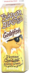 Flavor Blasted Goldfish Xtreme Cheddar & Sour Cream