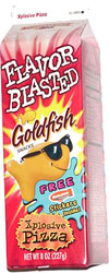 Flavor Blasted Goldfish Xplosive Pizza