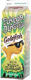 Flavor Blasted Goldfish Wild White Cheddar