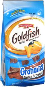 Goldfish Grahams Fudge Brownie