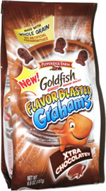 Goldfish Flavor Blasted Grahams Xtra Chocolatey